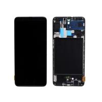 Display Samsung Galaxy A70 original, negru