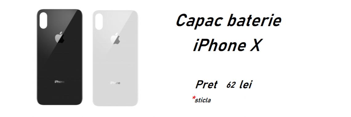 Capac baterie iPhone X