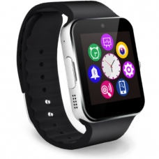 Ceas smartwatch cu telefon, bluetooth, camera, silver